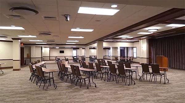 Interior of the Ralph Phillips Conference Center