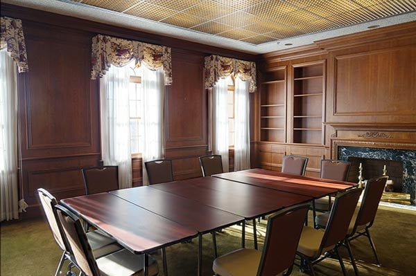 interior of the Kehoe Presidential room