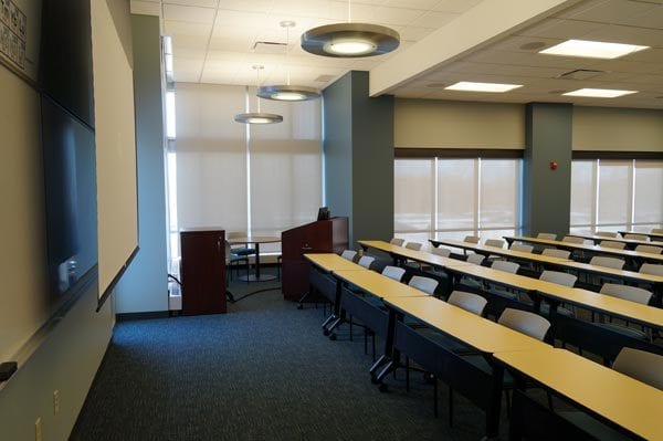 interior of the Gimbel Community Room