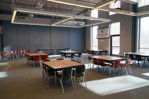 interior of the Byron Kee Center for Student Success