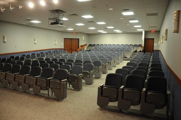 interior of the kehoe auditorium
