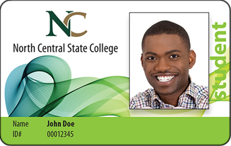 photo of a sample student id card